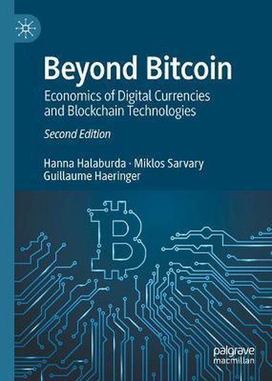 Boek cover Beyond Bitcoin van Hanna Halaburda (Hardcover)