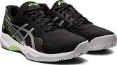 Asics Gel-Game Sportschoenen - Maat 42.5 - Mannen - zwart/zilver/groen/wit