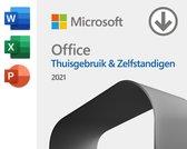 Microsoft Office Home and Business 2021 - 1 apparaat - Eenmalige aankoop (download)