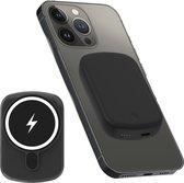 iSetchi Magsafe Powerbank 10.000 mAh – Klein formaat - Magnetisch & Draadloos – Voor iPhone 12 & 13 – Draadloze Oplader Batterij