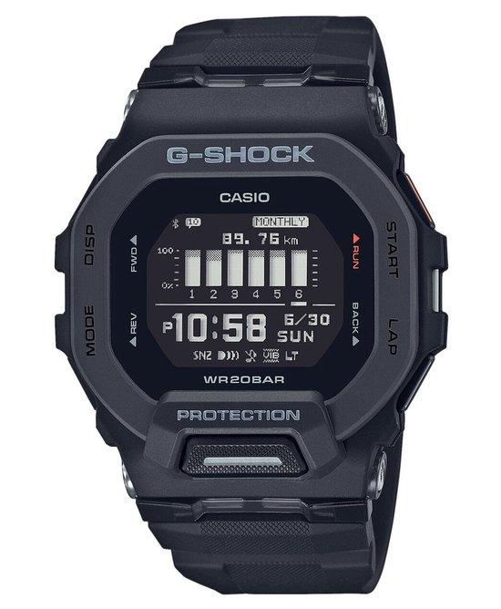 Casio G-Shock GBD-200-1ER Horloge - Kunststof - Zwart - Ø 41 mm