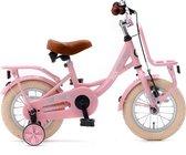 Nogan Puck - Kinderfiets - Meisjesfiets - 12 inch - Roze