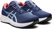 Asics Patriot 12  Sportschoenen - Maat 38 - Vrouwen - blauw/wit/roze