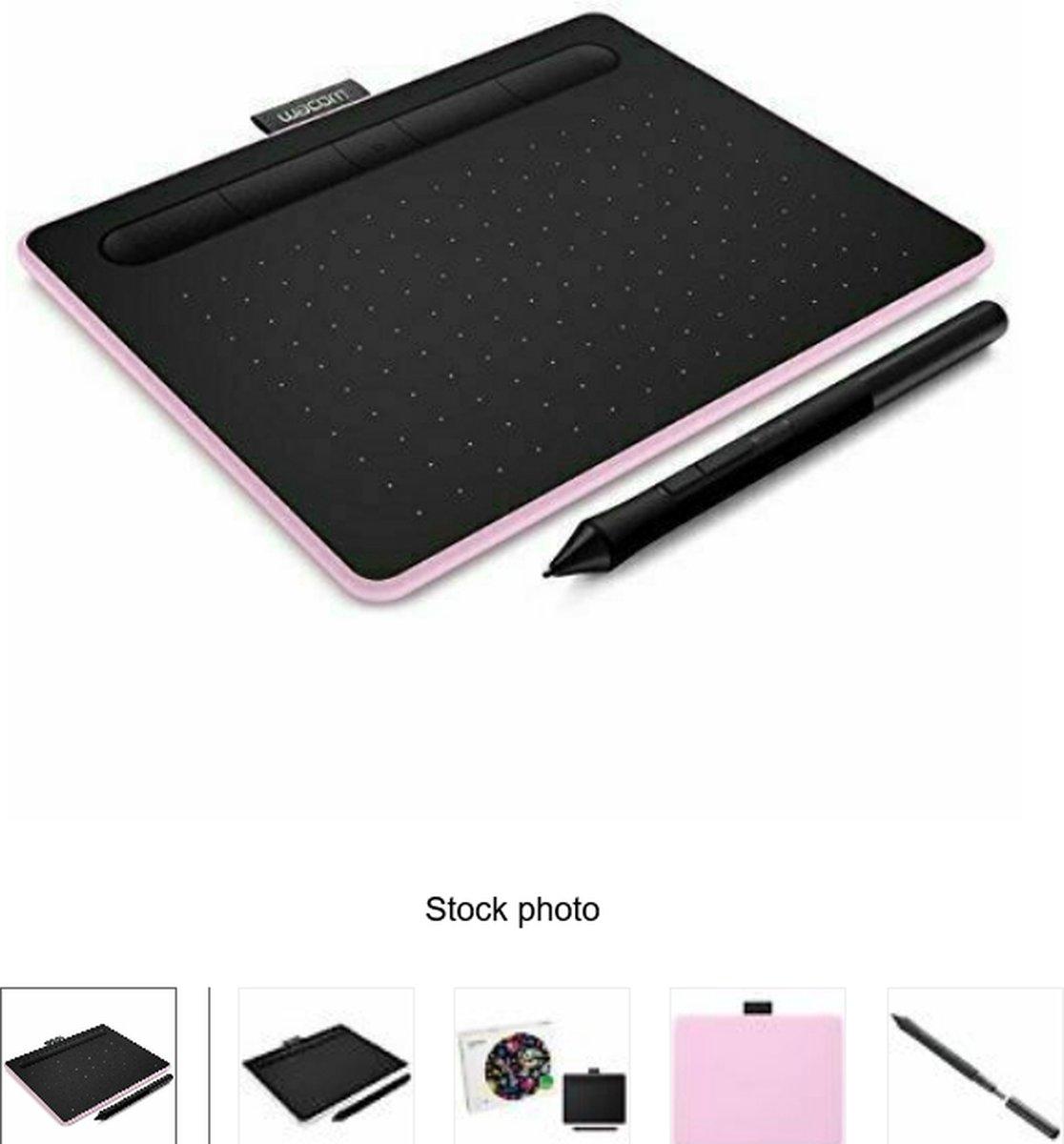 Wacom Intuos Pen & Bluetooth Medium - Tekentablet / PInk