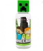 Minecraft 3D drinkfles - waterfles - 560 ml - Plastiek