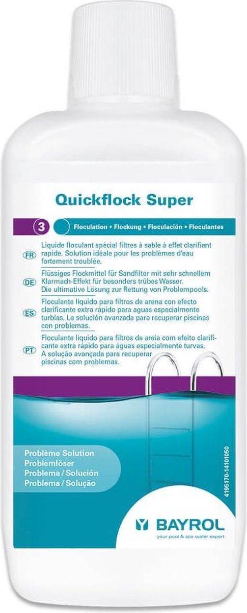 PoolPlaza - Vlokmiddel/vlokkingsmiddel strong vloeibaar - 1 liter - Bayrol