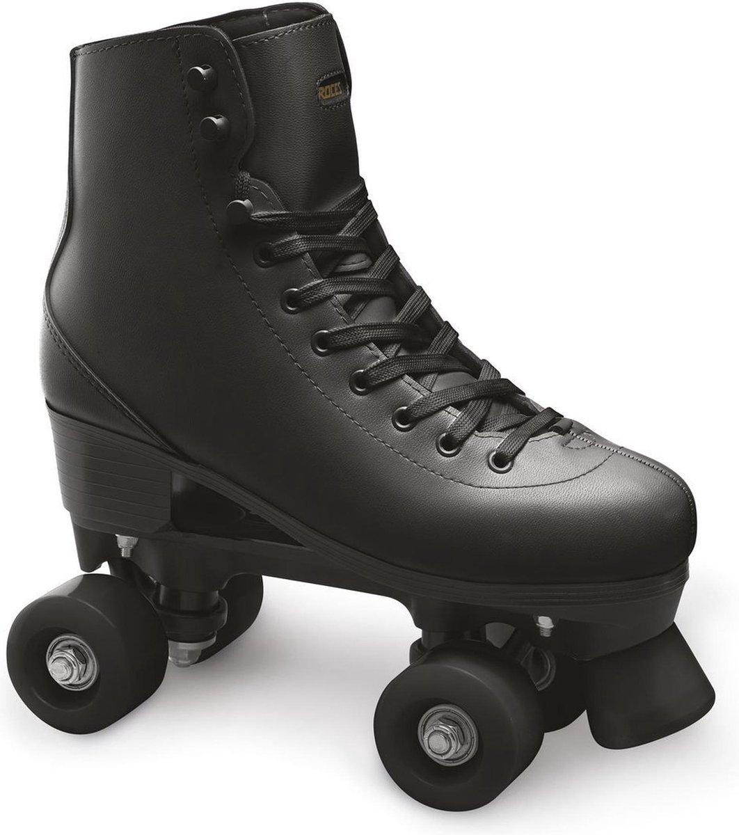 ROCES Rc1 Rolschaatsen Kinderen en volwassenen - 41 - Zwart