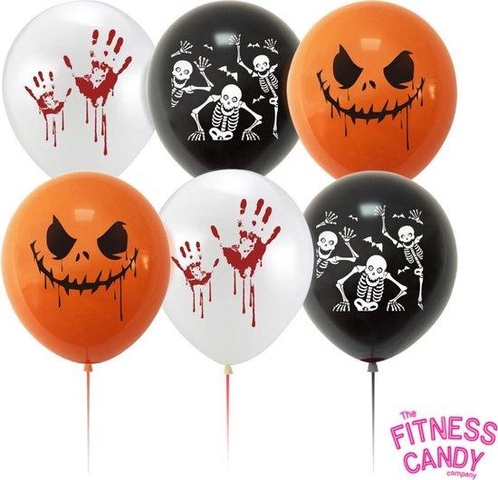 Halloween Ballonnen - Set van 6 - Halloween feestje