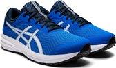 Asics Patriot 12 Sportschoenen - Maat 44 - Mannen - blauw/wit/zwart