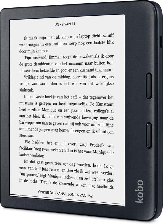 Kobo Libra 2 - 7 inch - 32GB - Bluetooth - Zwart