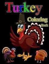 Turkey Coloring Book