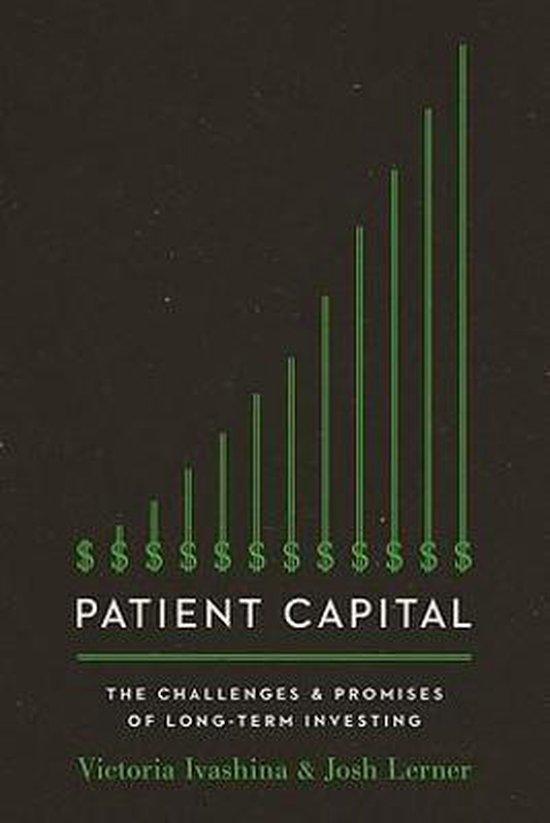 Boek cover Patient Capital van Victoria Ivashina (Paperback)
