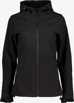 Mountain Peak dames outdoor softshell jas - Zwart - Maat L - Winddicht - Ademend materiaal