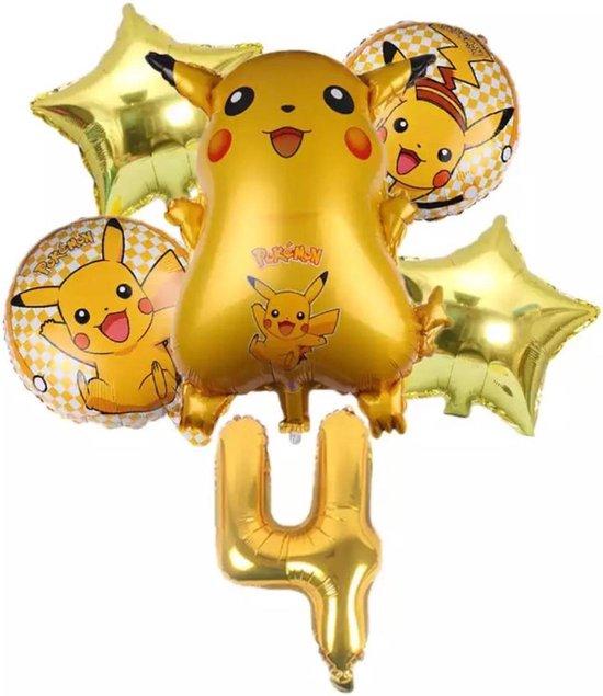Pokemon Ballon Droom Thema Party Decoratie Benodigdheden Pikachu Verjaardagsfeestje , Nummer 4