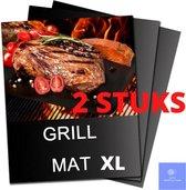 ⭐ATV PERFECTUM BBQ Mat XL ⭐ 40 x 33 cm – 2 Stuks - Bbq accesoires – Teflon -bakmat – Grillmat – Grill mat - grill mat voor bbq - BBQ Matjes - Grill Matjes - barbecue mat - grill mat bbq – bakmat siliconen – ovenmat