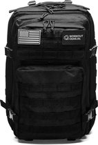 Workout Gear - Fitness Tas - Sporttas - Tactical Bag - Army Bag - Crossfit Sport Tas - Black