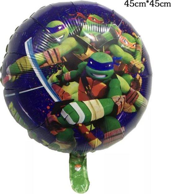 Teenage Mutant Ninja Turtles Folie Ballon 18 Inch-NU 1+1 GRATIS