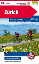 Zurich and Surroundings 6 Cycle Map