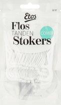 Etos Flos Tandenstokers Combi - 6 x 32 stuks