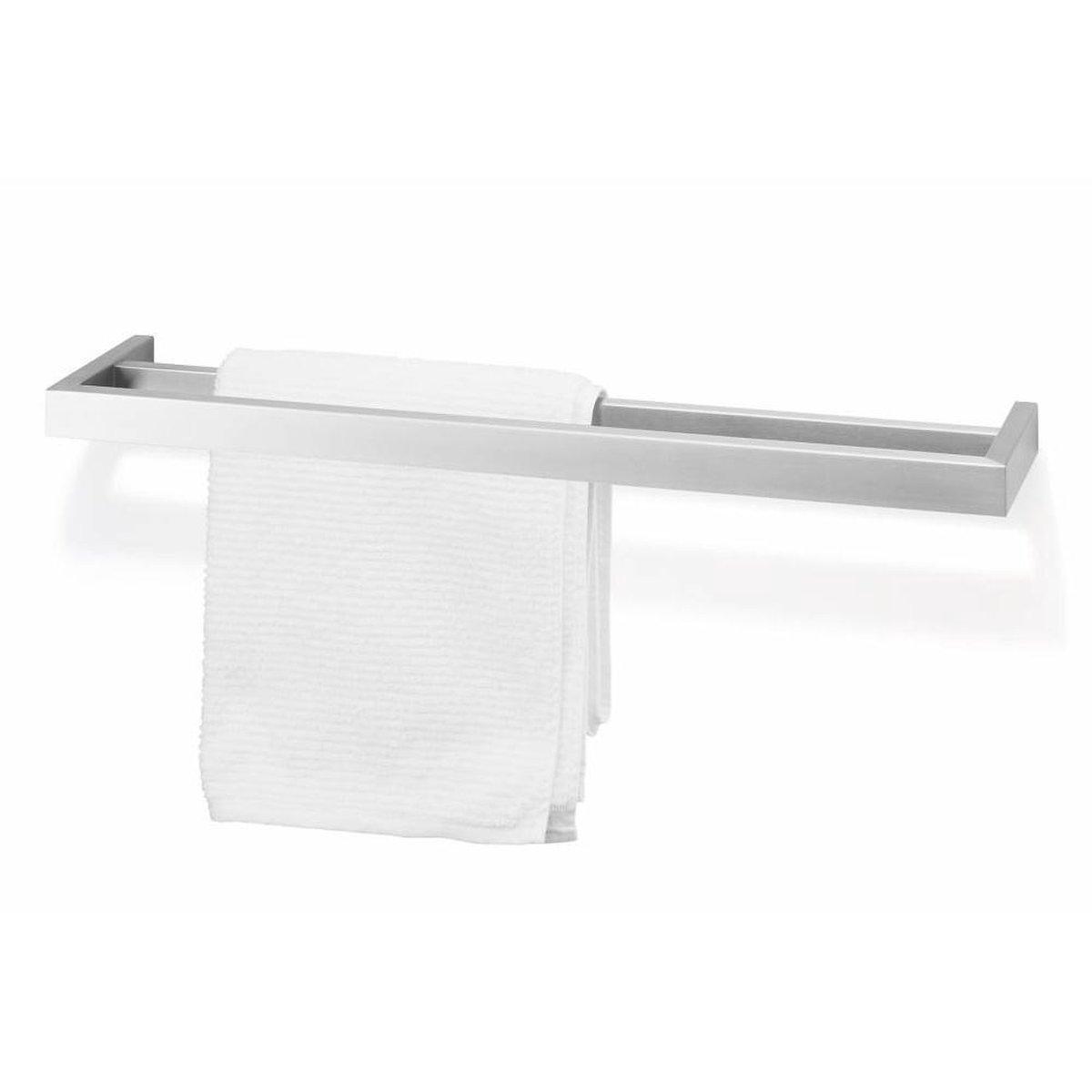 Zack handdoekhouder Linea mat geborsteld rvs - boren - 40393