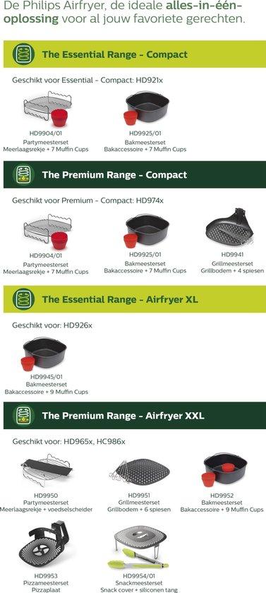 Airfryer XL Essential HD9260/90 – Hetelucht friteuse