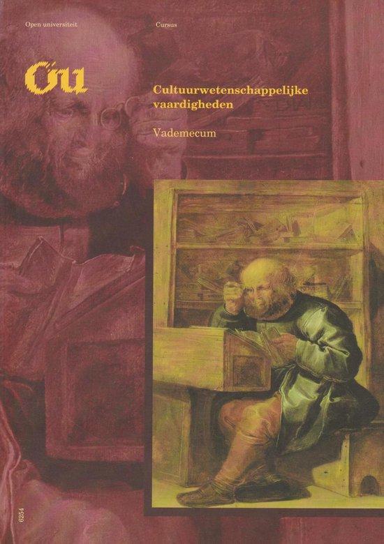 1 vademecum Cultuurwetenschappelijke vaardigheden - none  
