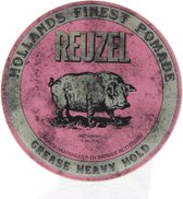 Reuzel Pig Pink Grease Heavy Hold Haarwax - 113g