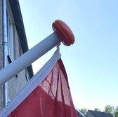 Vlaggenstok 2 meter (hout) voor aan huis, Nederlandse kwaliteit