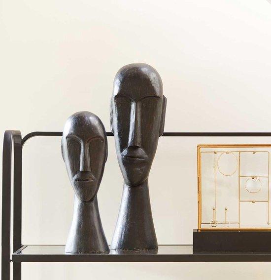 Ornament Chaga zwart 52cm