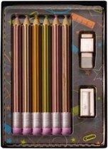 Weible chocolade kleurset giftbox - 7cm x 12cm