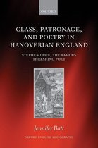 Class, Patronage, and Poetry in Hanoverian England