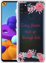 Samsung Galaxy A21s Hoesje Every Flower