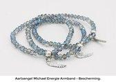 Aartsengel Michael Angel Energy armband - Bescherming - Blauw