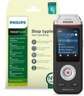 Philips Audio Recorder DVT28225, Stereo, 8GB, Nuance Dragon Spraakherkenningsoftware Recorder Edition 13
