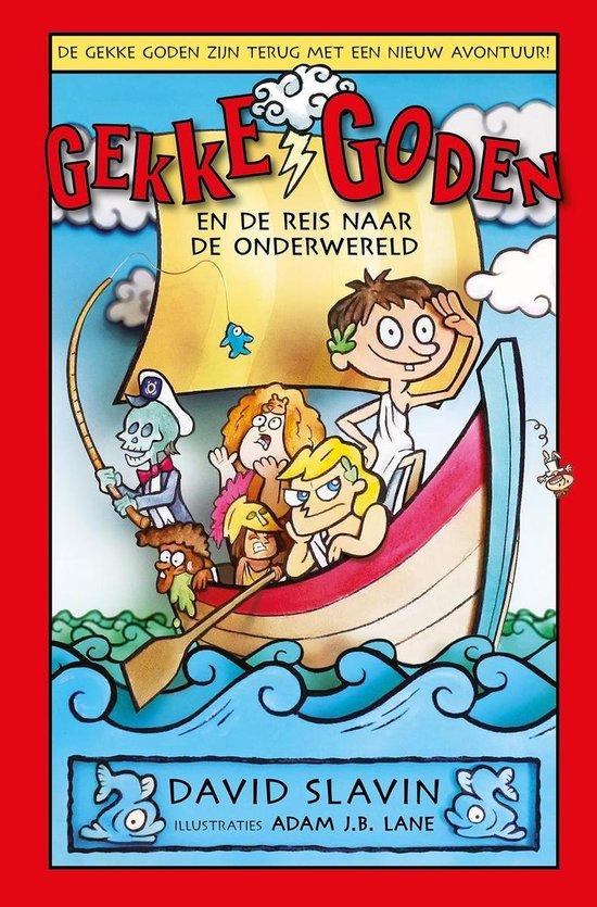 Boek cover Gekke goden 2 -   Gekke goden en de reis naar de onderwereld van David Slavin (Hardcover)