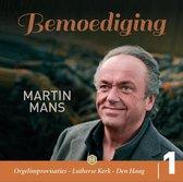 Martin Mans Cd Bemoediging, orgelimprovisaties, Lutherse Kerk Den Haag