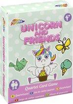 Unicorn kwartet - Unicorn kaartspel - Kwartetspel kinderen 4 jaar - Kwartet - Unicorn speelgoed - Unicorn - Unicorn spel