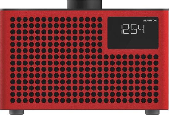 Geneva Hifi-Sound Acustica Lounge DAB+ radio/Bluetooth Rood
