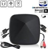 Easylife® Bluetooth 5.0 Transmitter Receiver - Zender & Ontvanger - HD Geluid - Audio - BT Adapter - PC - TV - Auto - Speaker - 15-18 uur Draadloos Streamen
