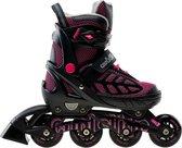 Coolslide Inlineskates - Maat 37-40 - Unisex - zwart/roze