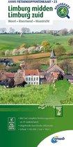 ANWB Fietsknooppuntenkaart 23 -   Fietsknooppuntenkaart Limburg midden, Limburg zuid 1:100.000