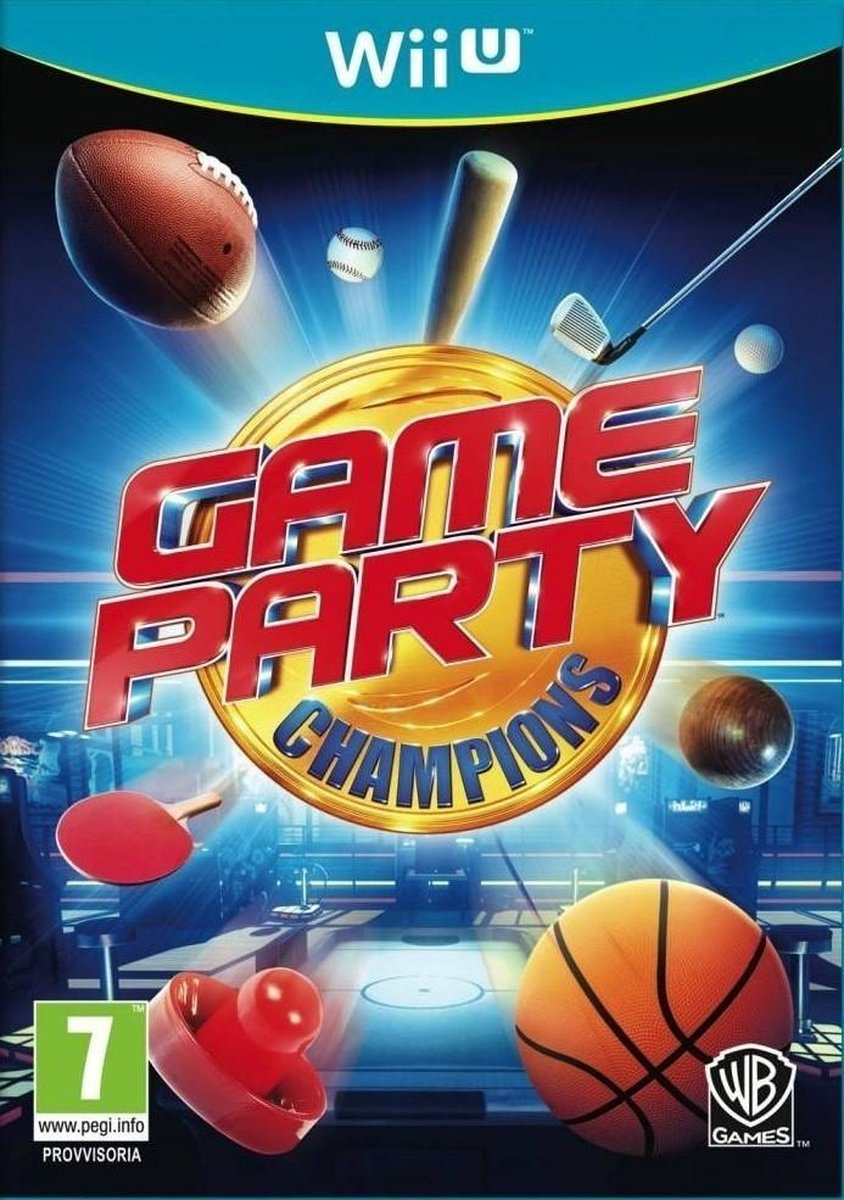 Gameparty Champions - Nintendo Wii U - Warner Bros. Games
