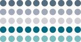 Gekleurde Ronde Stickers / Stickervellen / Bullet Journal Stickers   8mm   250x   BALI