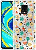 Xiaomi Redmi Note 9 Pro Hoesje Tropical Fruit