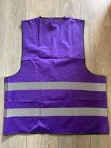 veiligheidshesje purple paars maat L XL
