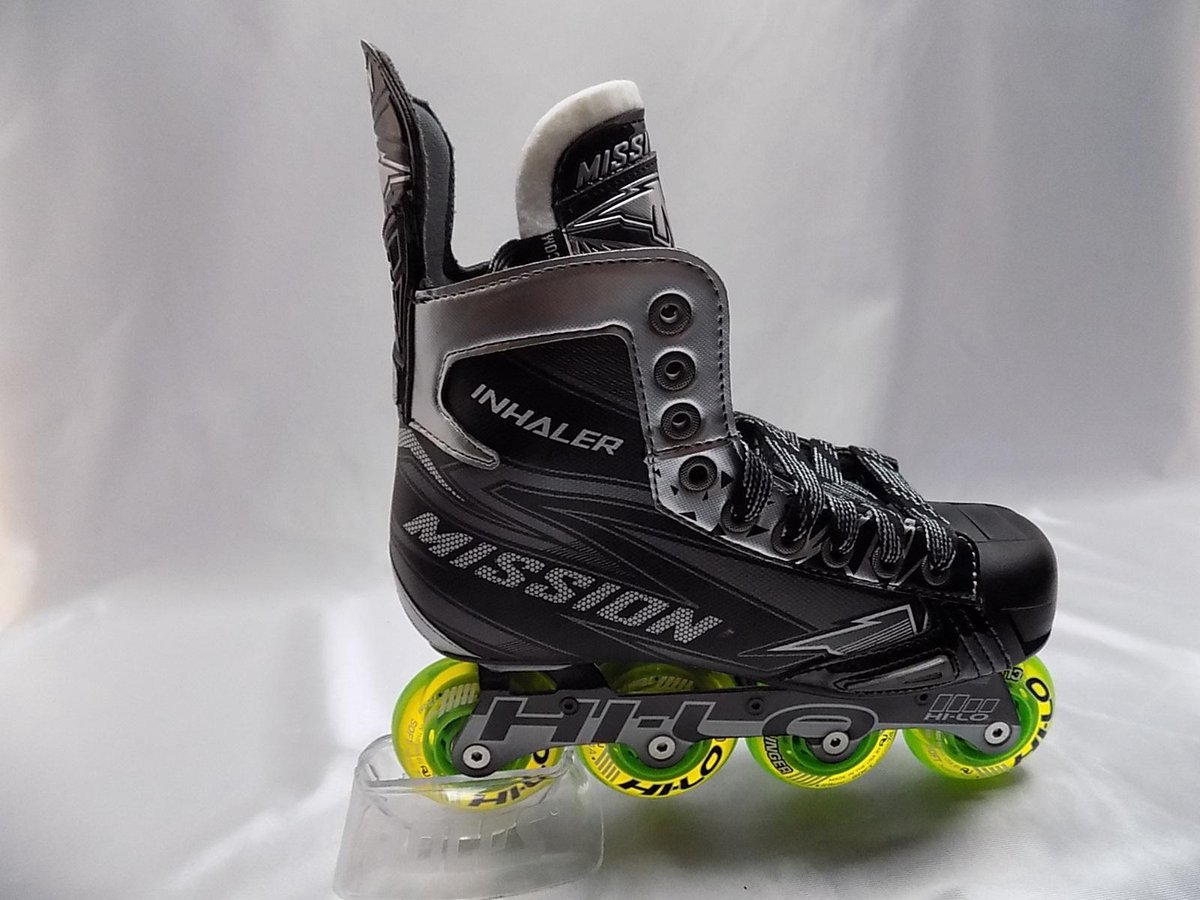 Streethockey skate Mission RH Inhaler NLS:4 Jr. maat 38,5