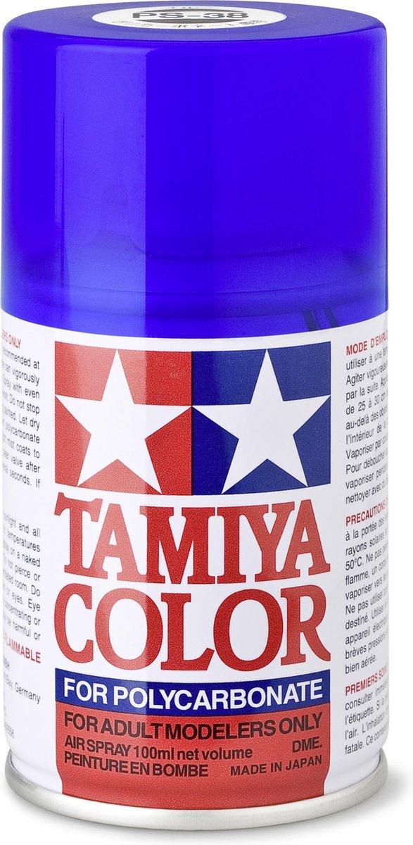 TAMIYA PS-38 Translucent Blue (spuitbus 100ml)