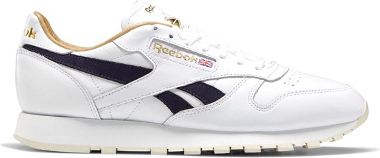 Reebok Sneakers - Maat 42 - Mannen - wit/ donker blauw/ goud