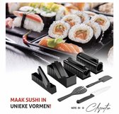 Clynntons kitchen 11-Delige Sushi Maker Set - All-