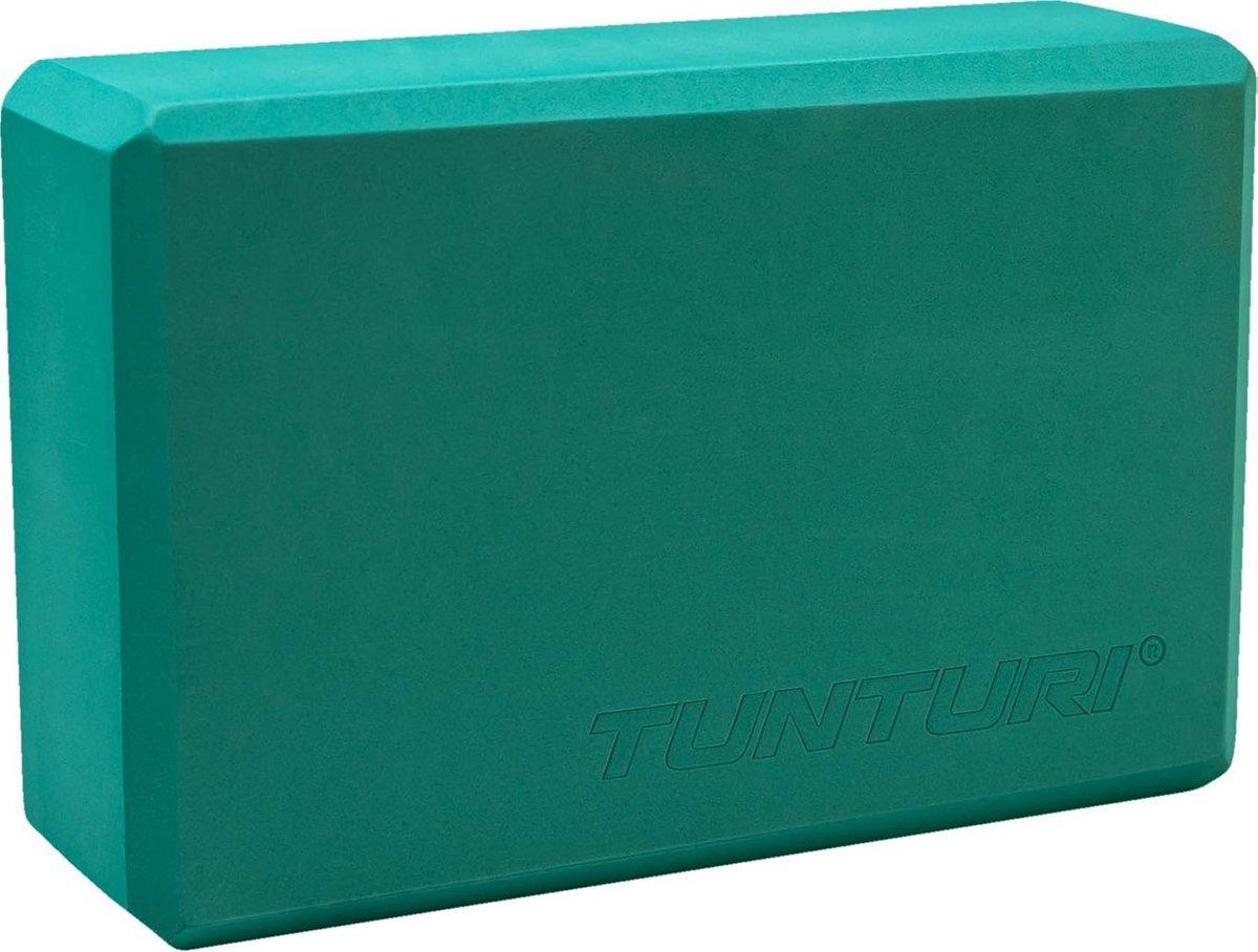 Tunturi Yoga Block - Turquoise kopen